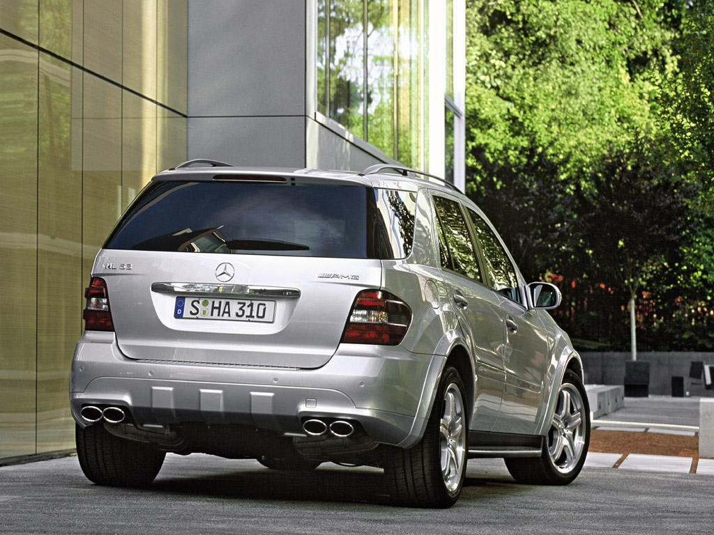mercedes benz ml 63 amg 2007 bin3aiah cars. Black Bedroom Furniture Sets. Home Design Ideas